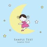 Cartões do anúncio da chegada do bebé Fotografia de Stock Royalty Free