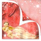 Cartões do anjo do Natal Imagens de Stock Royalty Free