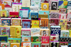Cartões do cartão Fotografia de Stock
