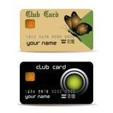 Cartões do clube Imagem de Stock Royalty Free