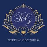 Cartões do convite do casamento com elementos florais Cartão no grunge ou no estilo retro ilustração do vetor