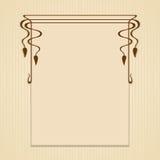Cartões do cumprimento ou do convite do vetor Fotos de Stock