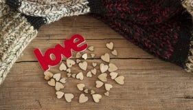 Cartões do dia de Valentim Fotos de Stock Royalty Free