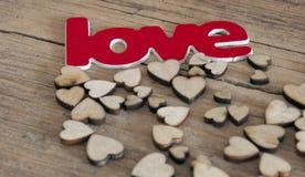 Cartões do dia de Valentim Fotografia de Stock