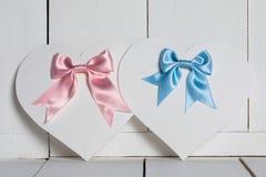 Cartões do dia de Valentim Fotografia de Stock Royalty Free