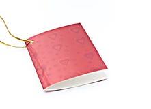 Cartões do dia dos Valentim. Fotos de Stock Royalty Free