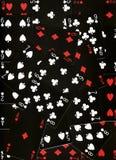 Cartões do jogo Fotografia de Stock