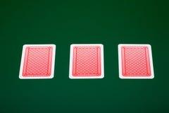 Cartões do póquer Imagens de Stock Royalty Free