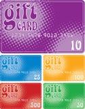 Cartões do presente Fotografia de Stock