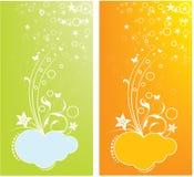 Cartões do projeto Fotografia de Stock