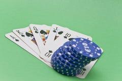 Cartões e fichas Foto de Stock Royalty Free