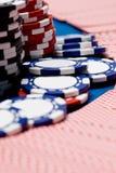 Cartões e potenciômetro Fotos de Stock Royalty Free