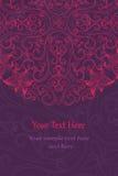 Cartões elegantes do convite Imagem de Stock Royalty Free
