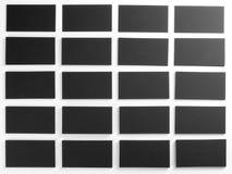 Cartões em branco Imagem de Stock