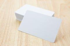 Cartões em branco Fotografia de Stock Royalty Free