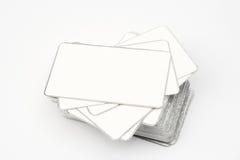 Cartões em branco Imagens de Stock