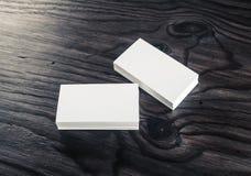 Cartões em branco Foto de Stock