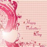 Cartões felizes de dia e de casamento de Valentim Imagens de Stock Royalty Free