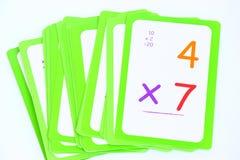 Cartões flash Fotos de Stock Royalty Free