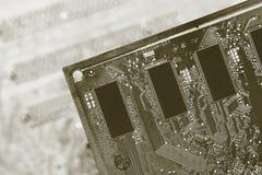 Cartões-matrizes do detalhe Fotografia de Stock