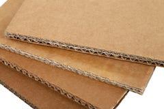 Cartões ondulados Imagem de Stock