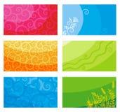 Cartões ou bandeiras Foto de Stock Royalty Free