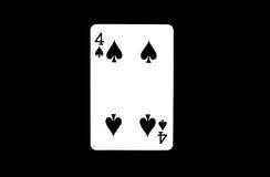 Cartões para o pôquer Fotografia de Stock Royalty Free
