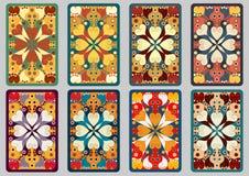 Cartões retros ajustados Fotos de Stock