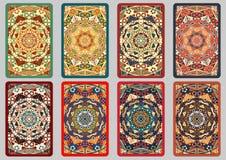 Cartões retros ajustados Foto de Stock Royalty Free