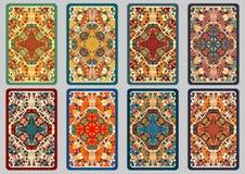 Cartões retros ajustados Imagem de Stock Royalty Free
