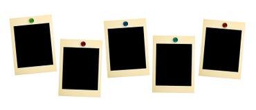 Cartões retros da foto Fotos de Stock Royalty Free