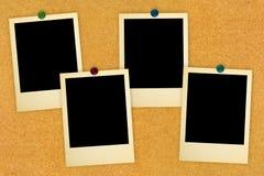 Cartões retros da foto Fotografia de Stock Royalty Free