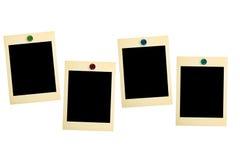 Cartões retros da foto Foto de Stock Royalty Free
