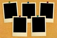 Cartões retros da foto Imagens de Stock Royalty Free