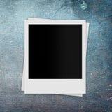 Cartões retros da foto no fundo do grunge Imagens de Stock Royalty Free