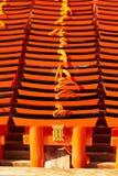 Cartões rezando pequenos do torii Fotografia de Stock Royalty Free