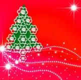 Cartões, tempo do Natal Foto de Stock