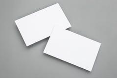 Cartões vazios Imagens de Stock Royalty Free