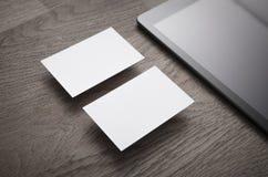 Cartões vazios Imagem de Stock