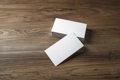 Cartões vazios Imagens de Stock