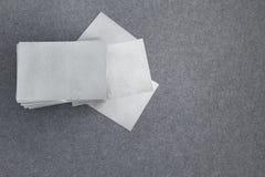 Cartões vazios, anunciando o conceito Foto de Stock