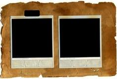 Cartões velhos da foto Imagens de Stock
