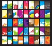 Cartões verticais Ilustração do Vetor