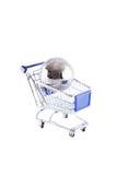 cart гловальная покупка Стоковые Фото