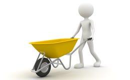 cart желтый цвет Стоковые Изображения