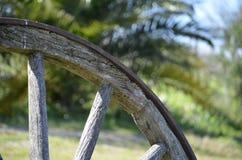 Cart колесо Стоковое Изображение