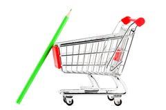 cart много покупка карандаша Стоковые Фотографии RF
