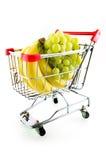cart покупка плодоовощ Стоковое Фото