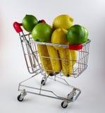 cart покупка плодоовощ Стоковые Изображения