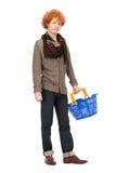 cart покупка человека Стоковые Изображения RF
